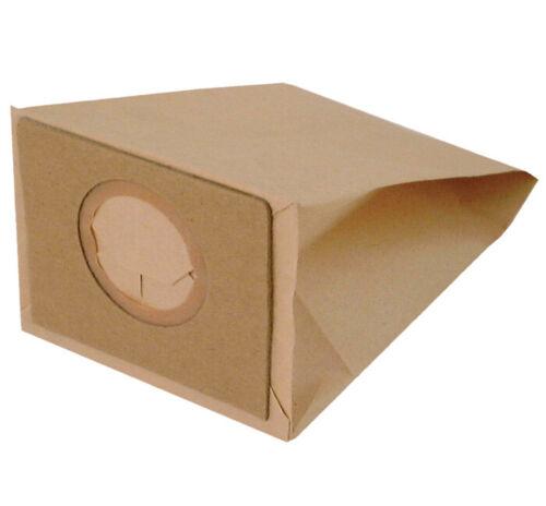I104K 8 sacchetti filtro sacco busta carta per aspirapolvere Imetec 8120