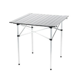 Charmant Image Is Loading Camping Table Roll Up Top Picnic Folding Portable