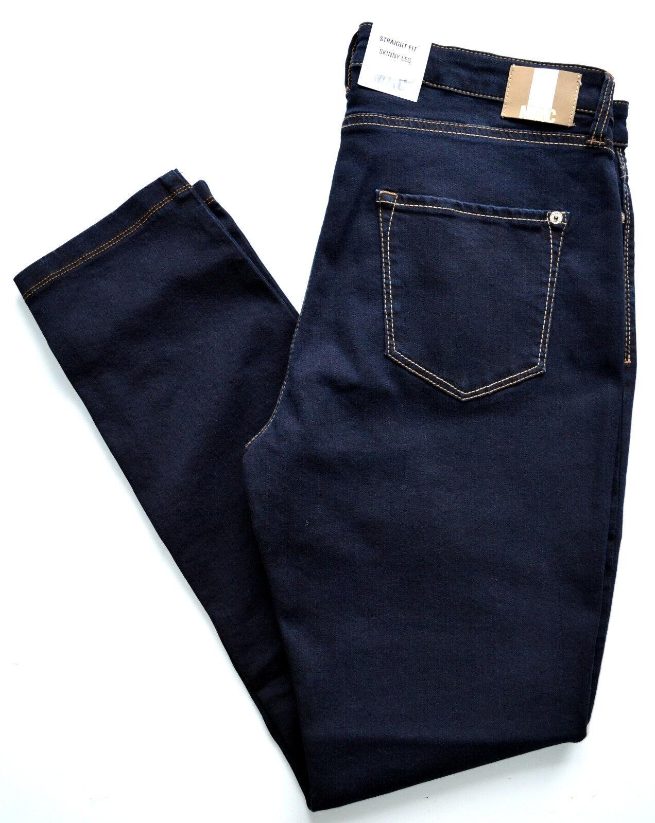 MAC Jeans Skinny  Stretch Röhre dunkel blue dark bluee Gr.40 L 34 NEU