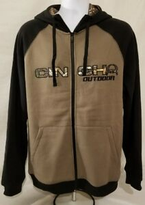 585cfa1d85b64 Image is loading Cinch-Outdoor-REALTREE-Zipper-hoodie-hooded-sweatshirt-mens -