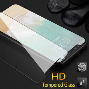 For iPhone 13 12 Pro Max 11 XS XR 8 7 X Screen Protector Tempered Glass Cover *3