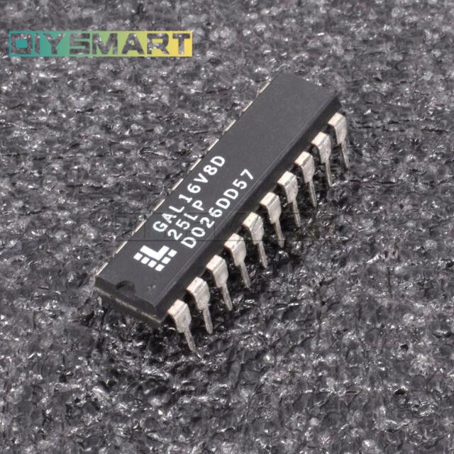 1PCS GAL16V8D-25LP DIP High Performance E2CMOS PLD Generic Array Logic AU