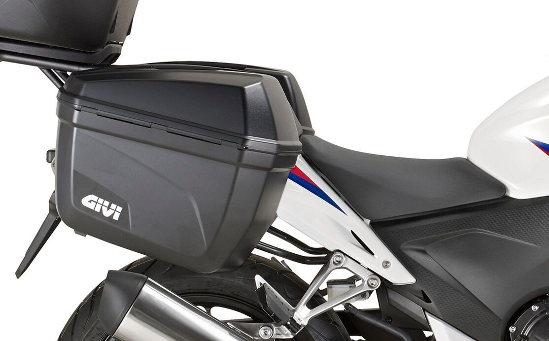 Givi E22N Monokey Side Cases Official Givi Stockist Panniers 22 Ltr
