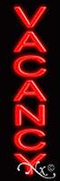 Brand vacancy 24x8x3 Vertical Real Neon Sign W/custom Options 12318