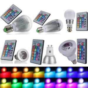 E27-E14-B22-LED-RGB-Spot-Light-Bulb-Color-Changing-Globe-Light-IR-Remote-AU