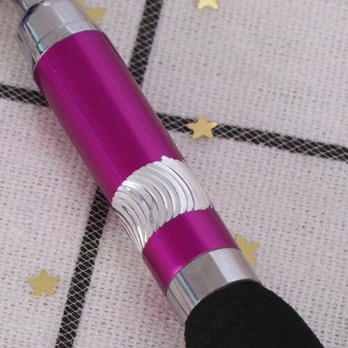 einziehbare Badge Reel Pen Gürtelclip und Karabiner Schlüsselbund Kugelschrei xj