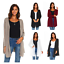 Women-039-s-Long-Sleeve-Loose-Fit-Flare-Flowy-Cardigan-Sweater-Jacket-Sizes-S-3X thumbnail 1