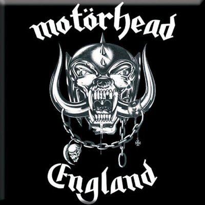 Motorhead Fridge Magnet Calamita England Official Merchandise