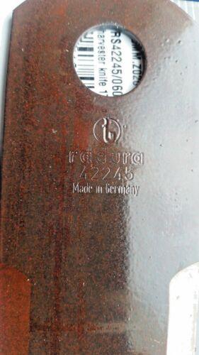 25 x RASSPE Schlegelmesser Strohhäcksler Messer glatt 4 mm 060017 Biso 2814//3
