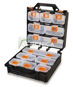 Valigia organizer Beta 2080/V12 con 12 vaschette portaminuterie estraibili