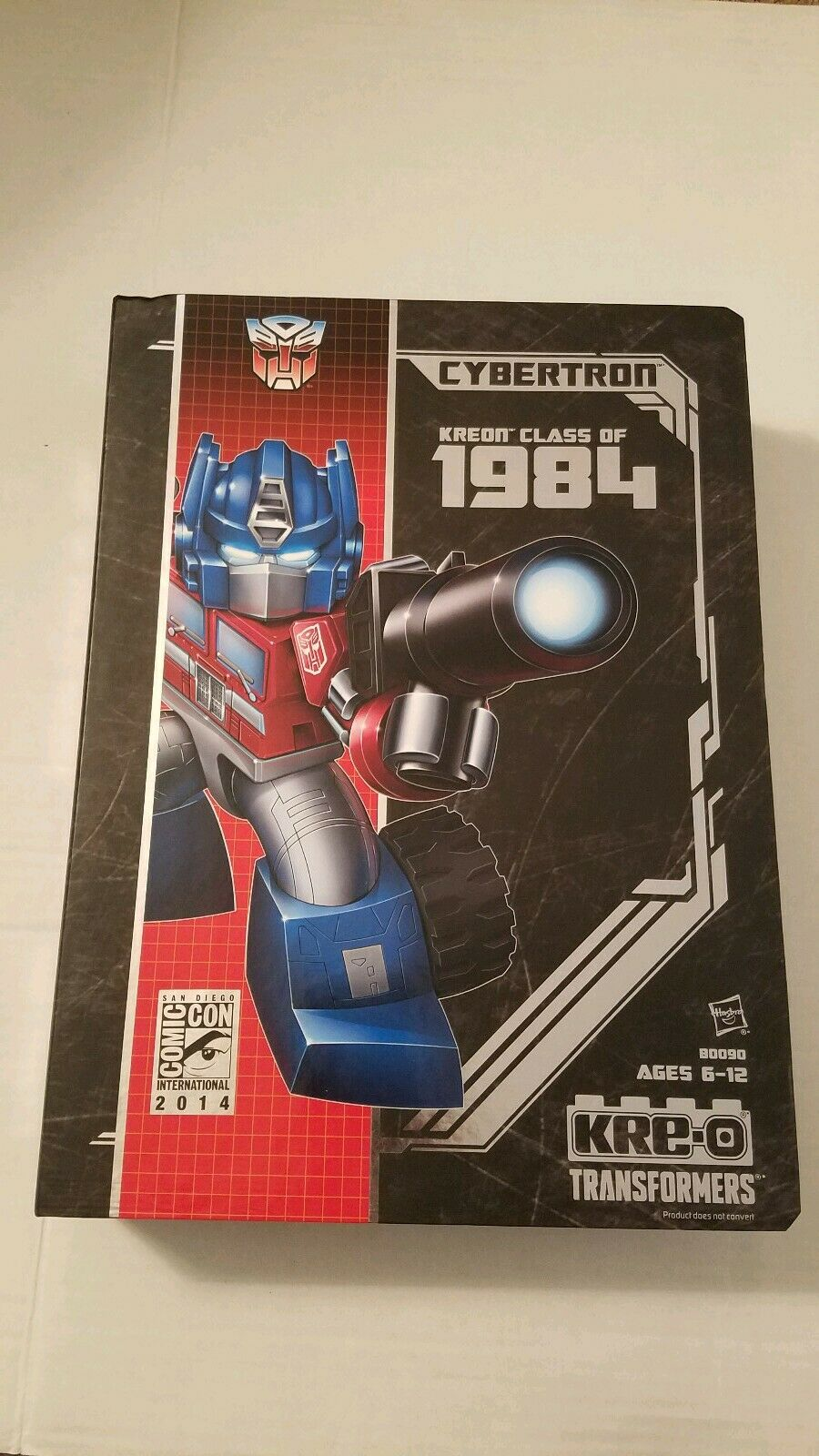 respuestas rápidas Sdcc 2014 Comic con Hasbro Kre-o Transformers Cybertron alta Kreon Kreon Kreon clase 1984  100% autentico