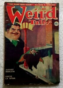 WEIRD-TALES-May-1949-Harding-JACOBI-La-Spina-DERLETH-Quinn-SCI-FI-Pulp