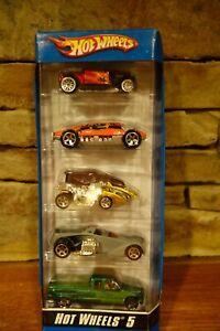 NIB-2006-Hot-Wheels-Diecast-3-Five-Packs-Assorted-Cars
