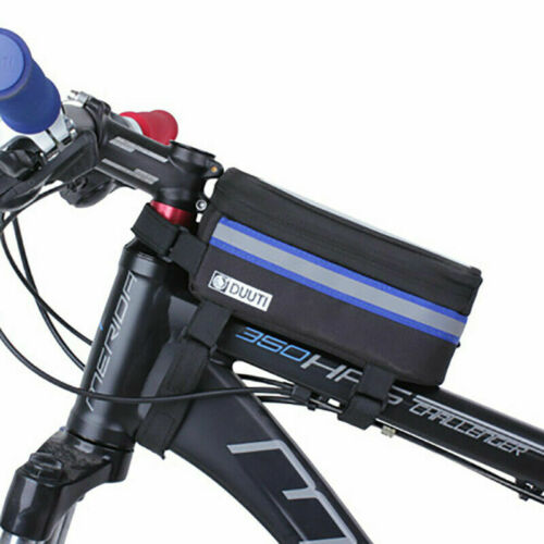 Bike Cycle Rainproof Touch Screen Frame Bag Case Holder Pouch For Mobile Phone