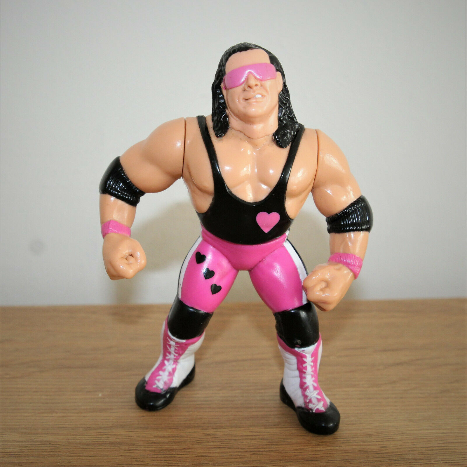WWF - Bret Hart - The Hitman - Hasbro - Titan Sports - Wrestling Figure - WWE