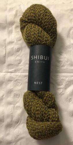 SHIBUI KNITS NEST Yarn 1 Skein POLLEN Color 75/% FINE HIGHLAND WOOL 25/% ALPACA