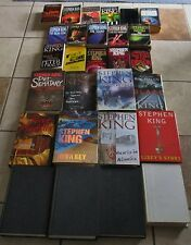 Lot 28 STEPHEN KING Book Horror Lot Stand Green Mile Shining Talisman Salem ++
