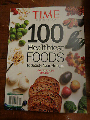 Special Time Edition 100 Healthiest Foods To Satisfy Hunger 2019 Magazine New Ebay