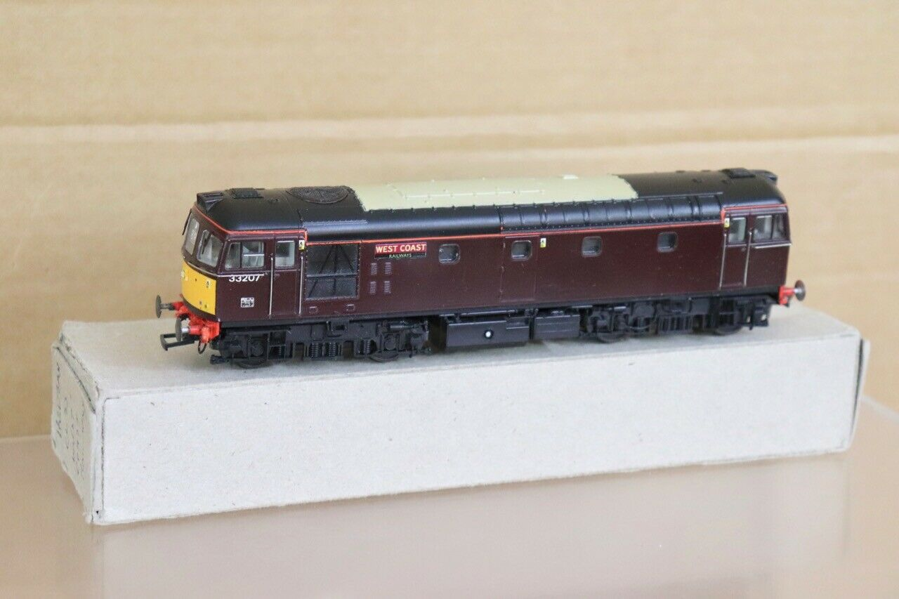 HELJAN REfinito DCC READY WEST COAST RAILWAYS classe 33 DIESEL LOCO 33207 nt