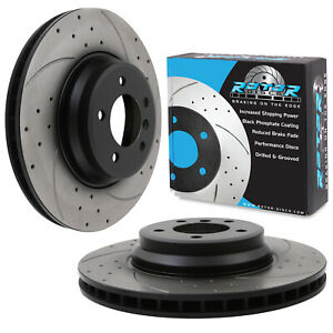 FRONT-DRILLED-GROOVED-348mm-BRAKE-DISCS-FOR-BMW-3-SERIES-E92-E93-335i-335d-330i