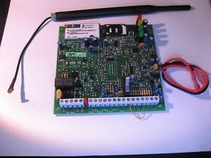 TYCO-GS3060-V3-11-GSM-Alarm-Communicator-Board-w-Antenna-Used-Untested-Qty-1