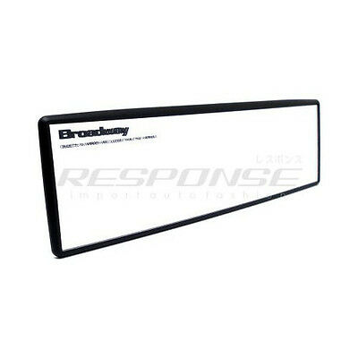 "Broadway BW-843 Rear View Mirror 240mm / 9.75"" Convex Aluminum Plated Universal"