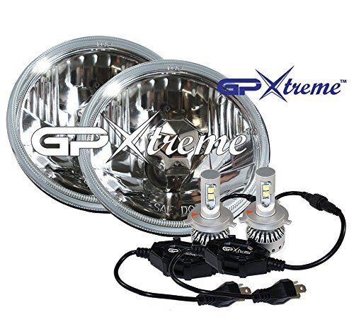 "GP XTREME H4 9003 LED CREE Light H6017 7/"" Round Seal Beam H6024"