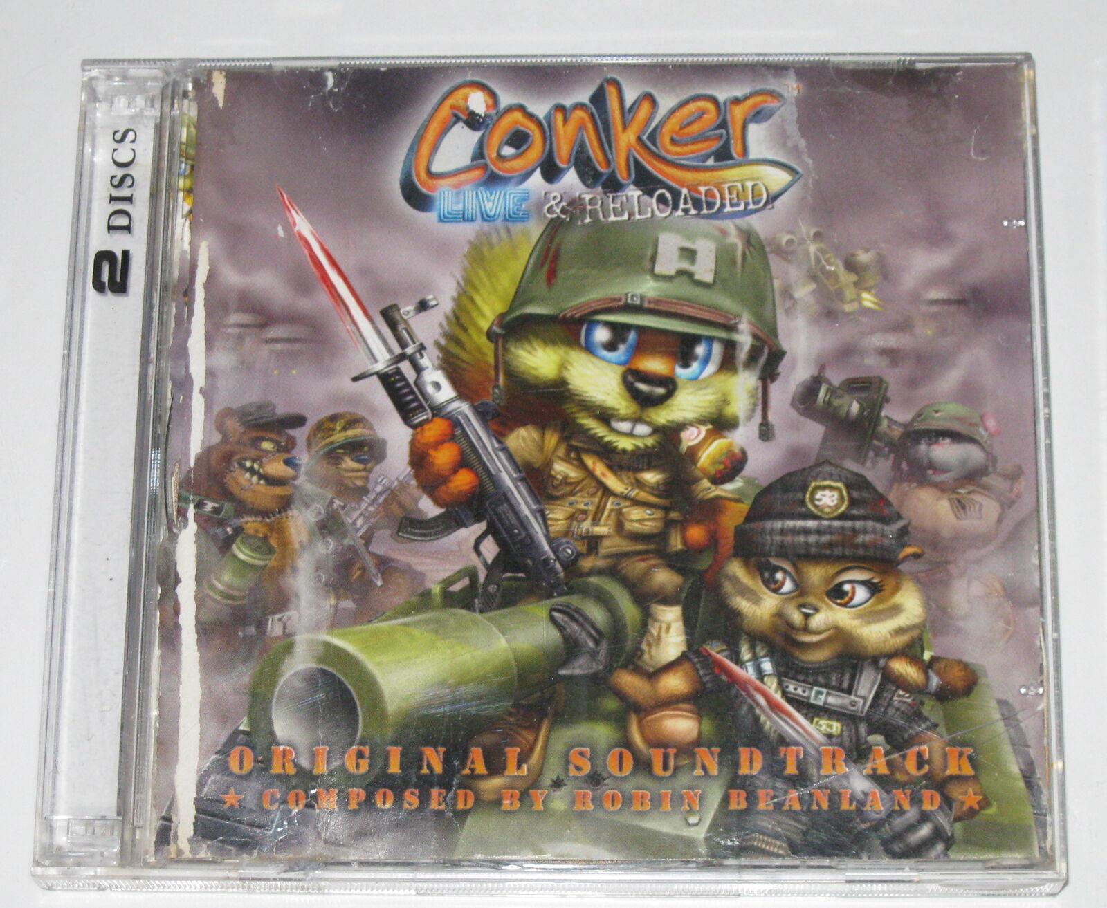 Conker Live Reloaded Original Soundtrack By Robin Beanland