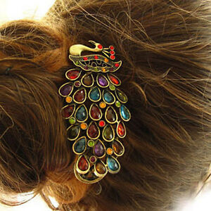 Vintage-Colorful-Crystal-Peacock-Hairpin-Crystal-Fether-Tail-Peacock-Hairband
