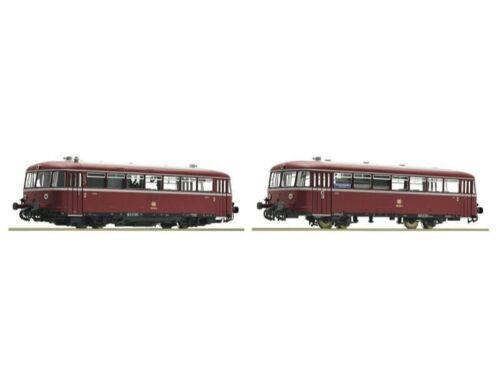 pista h0 DCC Roco 52631 Schienenbus 2 piezas br 798//998 de la DB