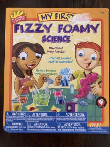 NEW SEALED My First Fizzy Foamy Science Kit Scientific Explorer- Chemistry