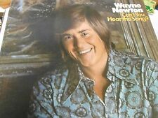 """Great Vintage  1972 Music LP-...WAYNE NEWTON """"Can't You Hear The Song ?"""""""