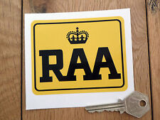 "RAA Royal Automobile Association of South Australia Classic Car Sticker 3.75"""