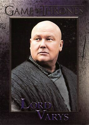 LORD VARYS // Game of Thrones Season 7 2018 Conleth Hill BASE Card #36