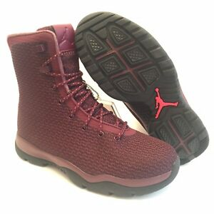 san francisco e32b0 333f0 Image is loading New-Nike-Air-Jordan-Future-Boots-Night-Maroon-