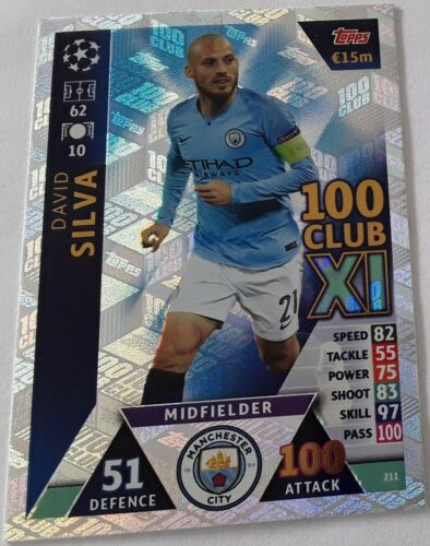 Topps Match Attax Ligue des Champions Road to Madrid 19 cartes individuelles pour choisir