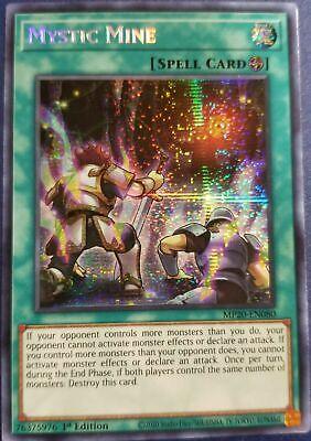 NM Yugioh Mystic Mine: Mega Tin 2020 1st Ed Prismatic Secret Rare