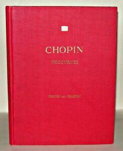 Chopin-Nocturnes-Thomas-P-Fielden-amp-Harold-Craxton-HB-Royal-School-of-Music