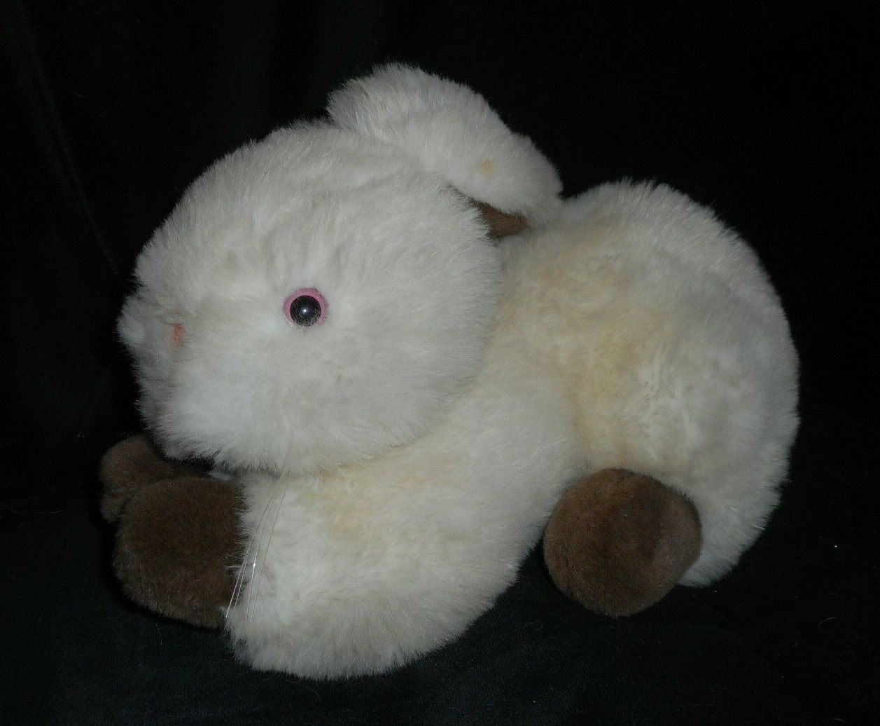 14  VINTAGE KAY BEE KAYBEE TOYS SOFT STUFF BUNNY RABBIT STUFFED ANIMAL PLUSH TOY