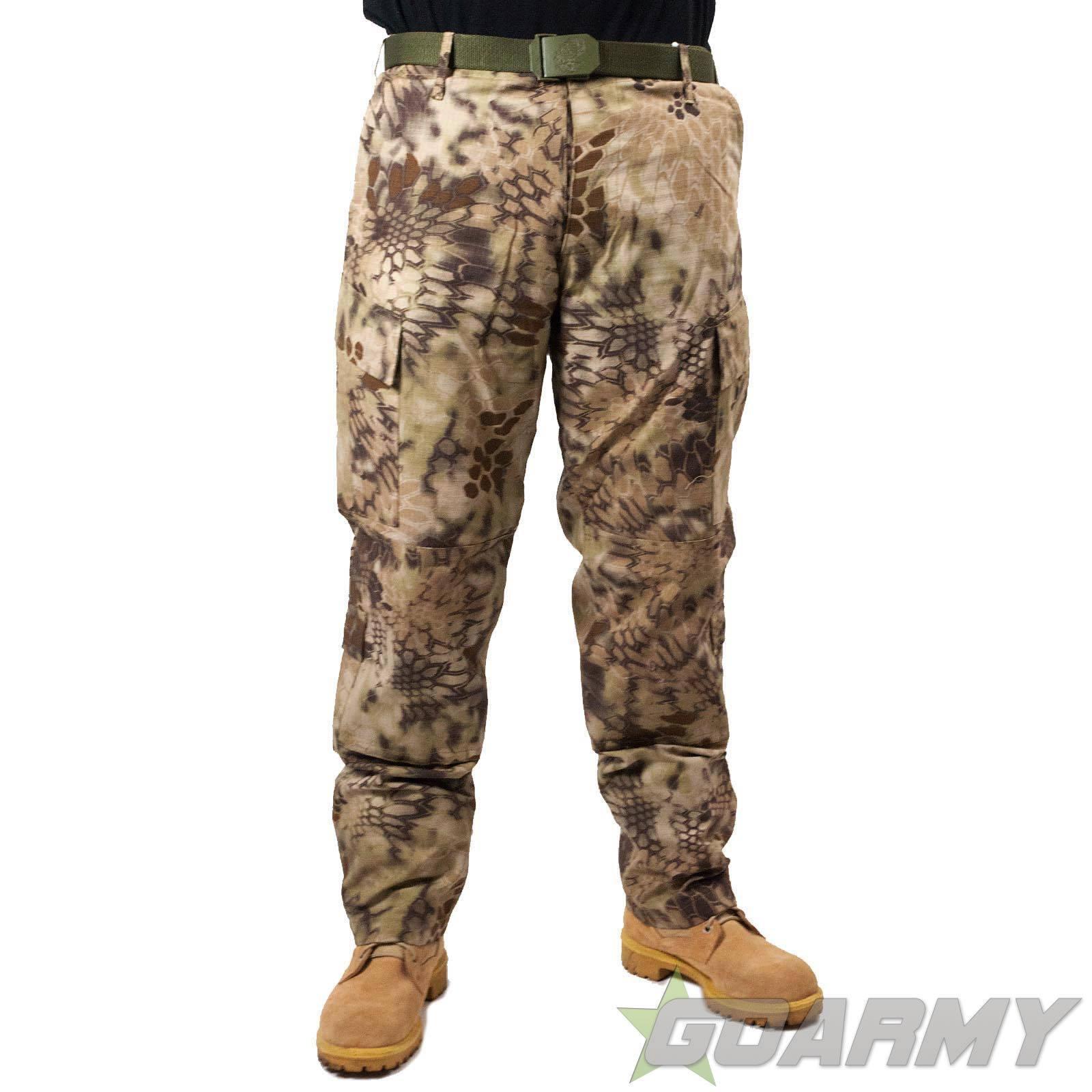 Mil-Tec Kryptek Style Camo Trousers Highlander