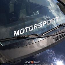 Motorsport Aufkleber Frontscheibe Heckscheibe Sticker FUN Tuning Auto XL Racing