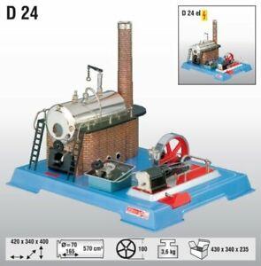 Wilesco-D-24-Dampfmaschine-Fabrikneu