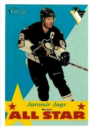 2001-02 Topps Heritage #113 Jaromir Jagr AS