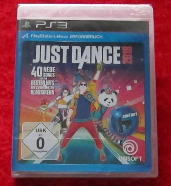 Just Dance 2018, PS3, PlayStation 3 Spiel, Neu, deutsche Version