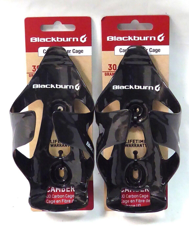 2x negroburn Camber Jaula de de de fibra de carbono negro brillante PAR 9398ba