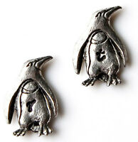 Customizable Penguin Cufflinks - Gifts For Men - Handmade - Gift Box