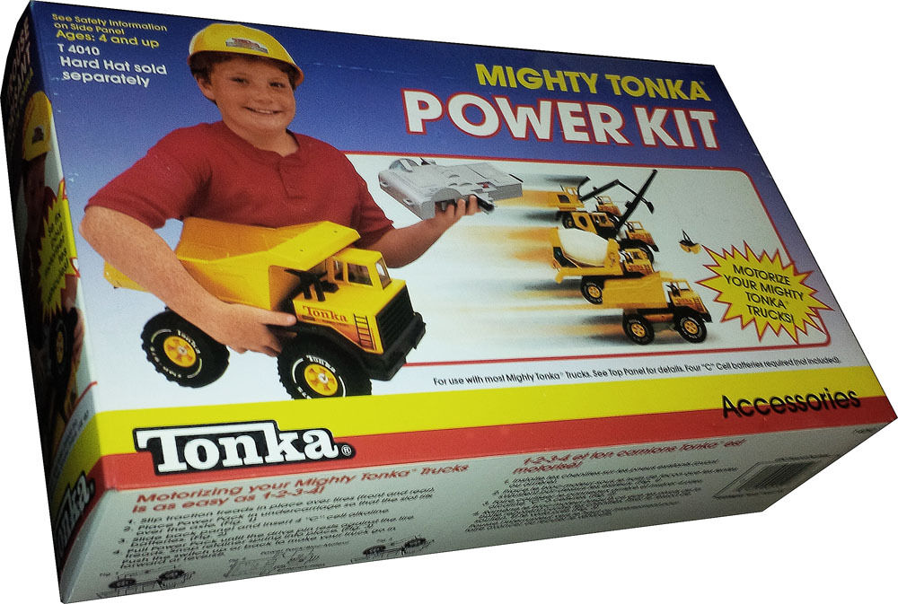 Mighty Tonka Power Kit (no Hardhat) - Vintage 1988 - Collectible  New  - MISB
