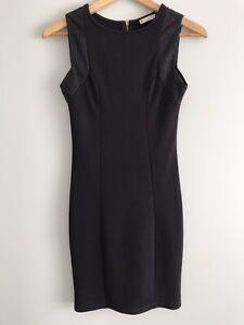 TARGET-Ladies-Size-10-Black-Fitted-Pencil-Dress-Corporate-Office-Workwear-EUC