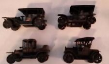 VINTAGE MINIATURE DIE CAST PENCIL SHARPENERS OLD MODEL CARS LOT OF 4