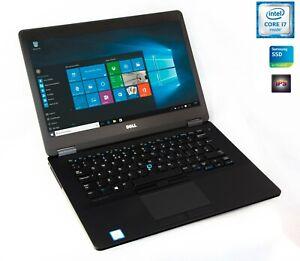 Dell-Latitude-E7470-i7-6600u-2-0-3-0Ghz-8GB-256GB-SSD-IPS-1080p-FullHD-Webcam